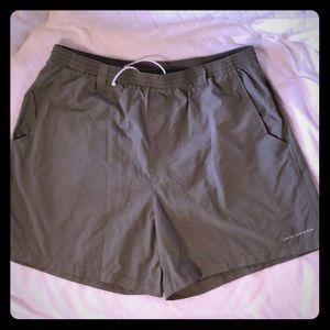 NWOT Columbia PFG Omni Shade olive swim shorts XL